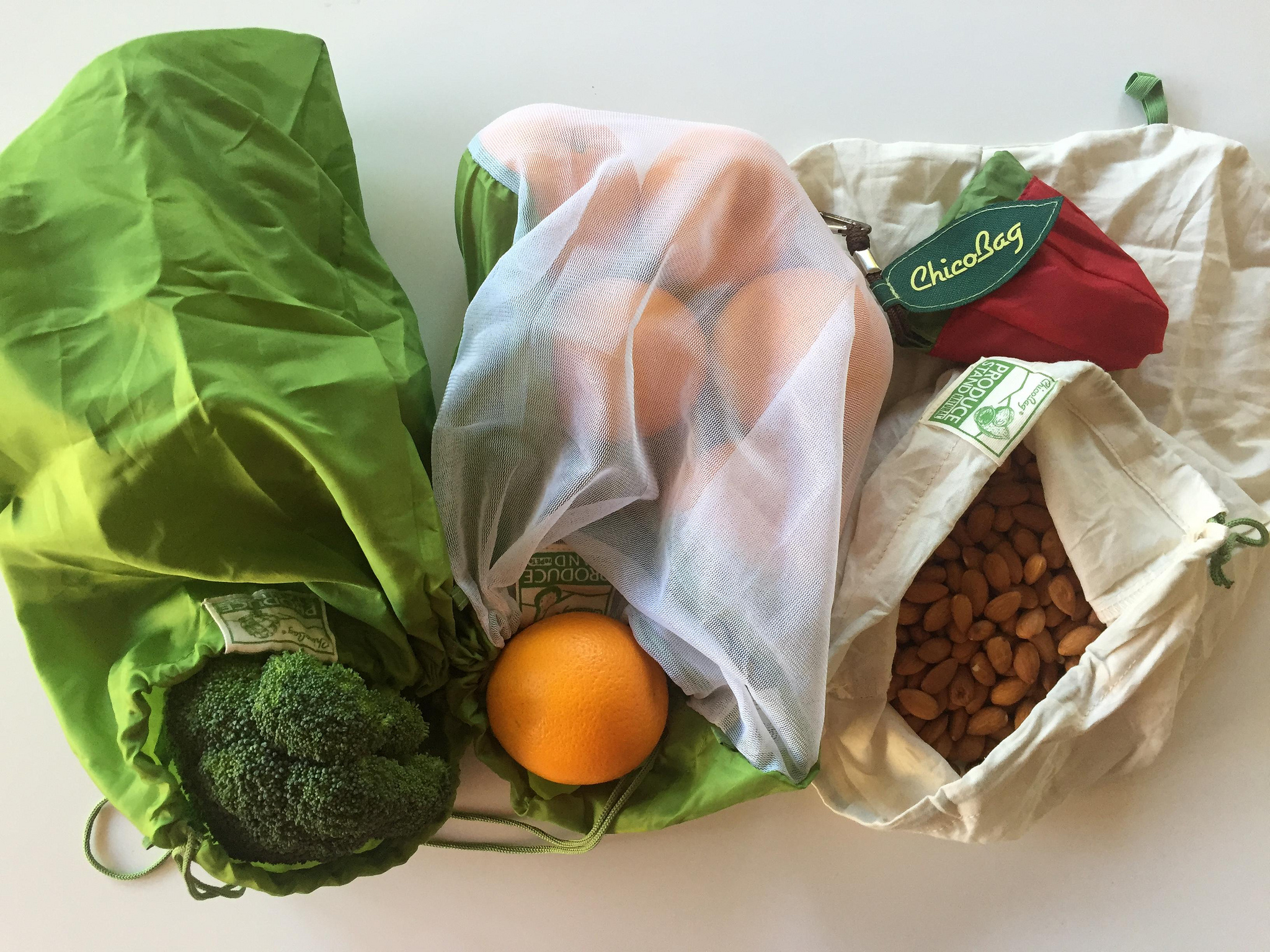 Reusable bags for all your grocery needs.