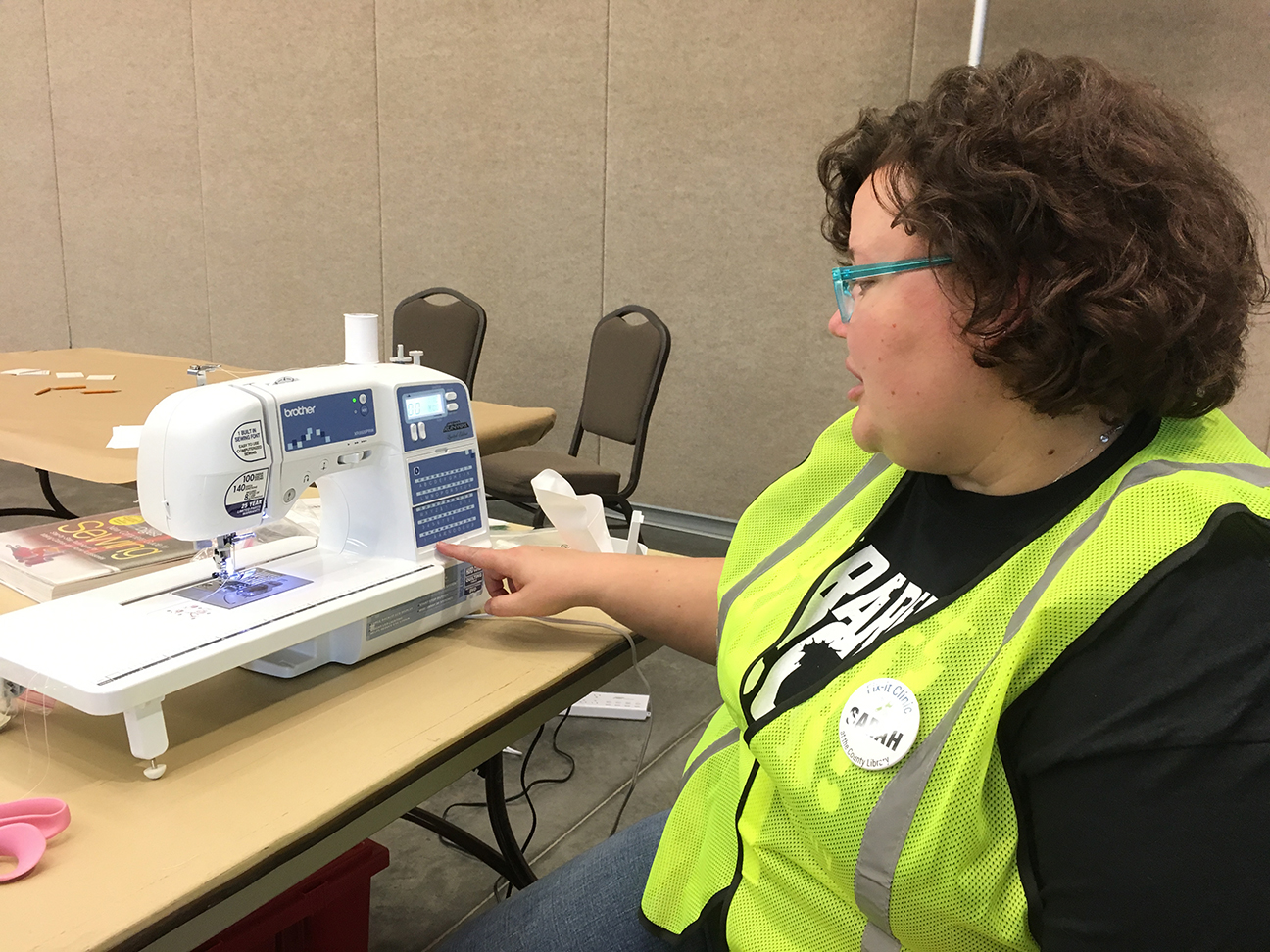 Volunteer with the Utah Recycling Alliance
